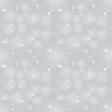 Abstract Winter Gray Pattern
