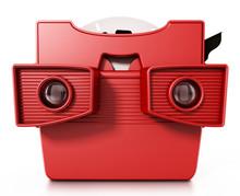 Red Vintage 3D Slide Viewer Is...