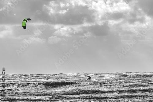 Kitesurfer Nordsee Dänemark