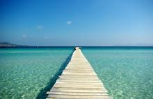 Boardwalk To The Sea Horizon