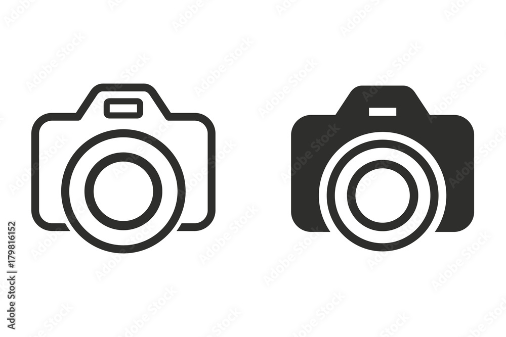 Photo vector icon.