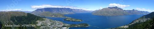 Aluminium Prints New Zealand queenstown panorama