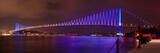 Bosphorus Bridge at night in Istanbul