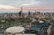 Melbourne CBD And The Melbourn...