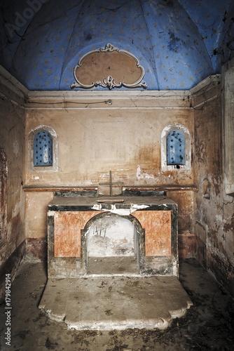 Fotografie, Obraz  Resti di  altare della Chiesa di Palazzo Torti