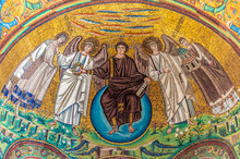 The Apse Mosaic At San Vitale,...