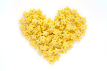Corn Flakes In The Form Heart ...