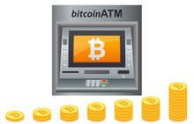 Bitcoin Electronic Crypto Currency ATM Machine
