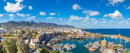 Fotobehang Cyprus Harbour in Kyrenia (Girne), North Cyprus