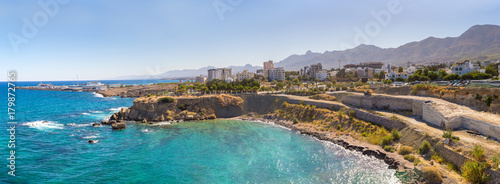 Photo Stands Cyprus Panorama of Kyrenia in North Cyprus