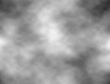 Grey Sky With Clouds. Vector Background. Texture Dark Distressed Ominousb Clouds With Cumulus Clouds..