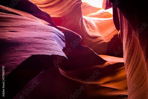 Foto op Plexiglas Antilope amazing shapes at antelope canyon, arizona