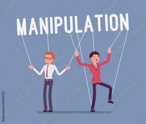 Photo  String manipulation puppet people