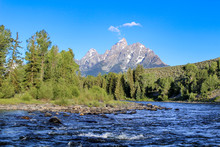 Grand Teton View From Snake River