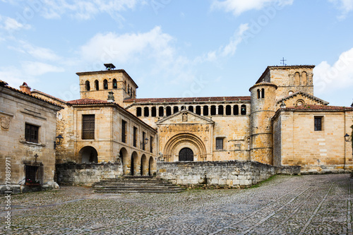 Collegiate Church in Santillana del Mar, Cantabria, Spain
