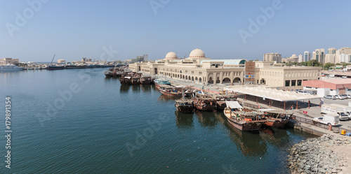 Papiers peints Morning Glory Sharjah - port