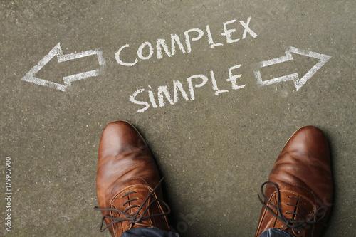 Fényképezés  Decision time: Complex or Simple