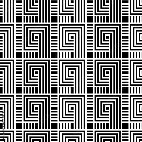 bezszwowy-geometryczny-wzor-geometryczny-prosty-druk-powtarzajaca-sie-tekstura-wektor-monochromatyczne-tlo-liniowe-motyw-graficzny-tekstury-meander