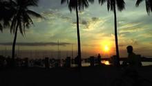 Manila Harbor Sunset