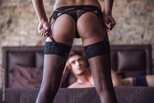 Obraz Couple having sex - fototapety do salonu