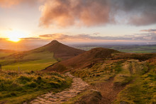Roseberry Topping At Sunset