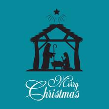 Merry Christmas Nativity Scene...