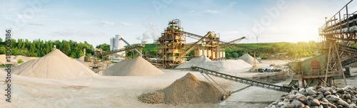 Cuadros en Lienzo Maschinen im Tagebau