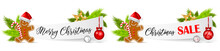 Christmas Paper Banner Set Wit...