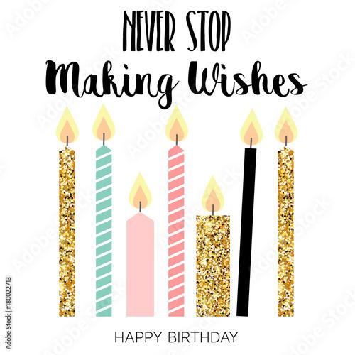 Fotografia Happy Birthday Greeting Card
