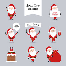 Santa Claus Character Greeting...