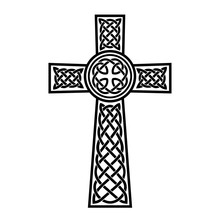 Decorative Celtic Cross