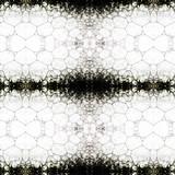 Piana na białym tle barwiona tuszem, kolaż - 180038987