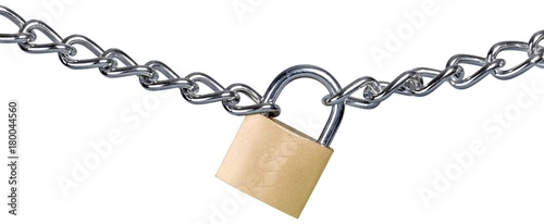 Photographie  Padlock on a Chain