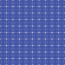 Solar Panel Seamless Pattern. ...