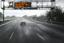 Bad Weather On The Highway