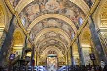 St John's Co-Cathedral In Valletta