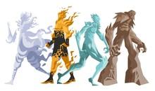 Four Elements Titans