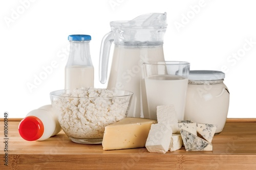 Poster Produit laitier Dairy Products with Eggs