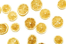 A Lot Of Dried Sliced Orange