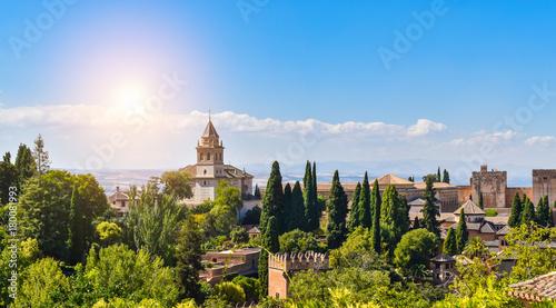 Alhambra, Granada, Andalusia, Spain Fototapete