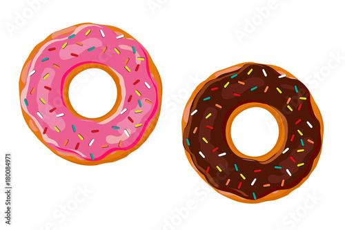 Sweet donut Canvas Print