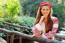 Beautiful Slavonic Girl With L...