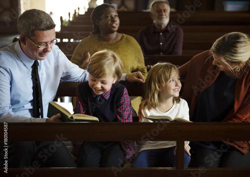 Photo Church People Believe Faith Religious