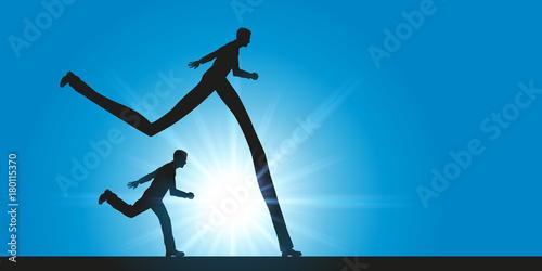 Fotografering course - compétitif - avantage - leadership - concept - compétition - performanc