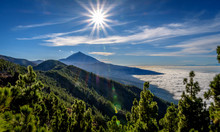 Teide And Clouds