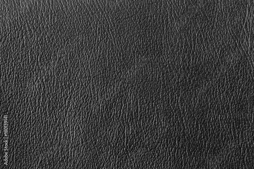 Fotografia, Obraz  Close up detail black leather and texture background