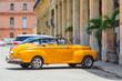 Классические автомобили. Гавана, Куба - Старый Гавана центр города. Архитектурв.