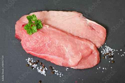 rohe Schnitzel