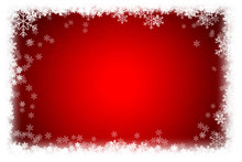 Simple Christmas Red Backgroun...