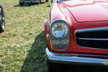 Schönes Altes Auto Mit Viel Chrom
